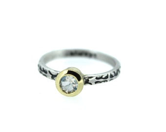 moonstone engagement ring with engraved band . alternative engagement ring . bezel set moonstone ring . made to order size 4 5 6 7 8 9