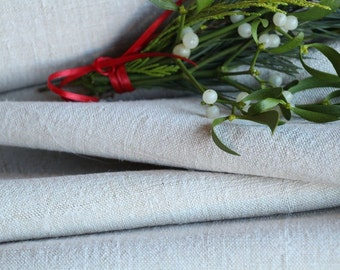 R 129:  handloomed antique linen plain,PALE OATMEAL 11.25yards 리넨 french lin curtain panel;  wedding, tablecloth, upholstery, roman blinds