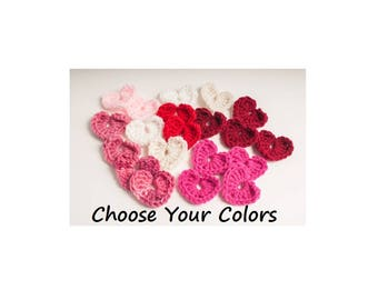Heart Accents, 50, US Shipping Included, Valentine's Day, Valentine, Love, Couple, Anniversary, Wedding Favors, Romance
