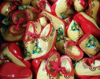 mini wood holland clogs shoes