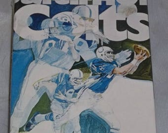 ON SALE Vintage NOS Sealed Springbok Baltimore Colts 1971 Mini Jigsaw Puzzle Nib