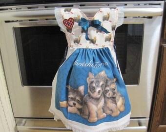 Yorkshire Terrier Kitchen Towel Dress