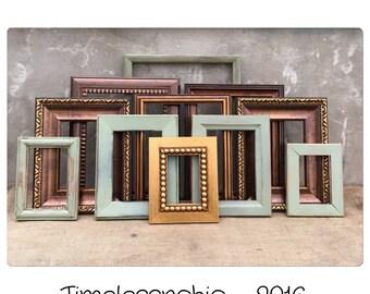 PICTURE FRAME - Picture Frames - Rustic Picture Frame - Modern Frames -Farmhouse Decor - CHIC