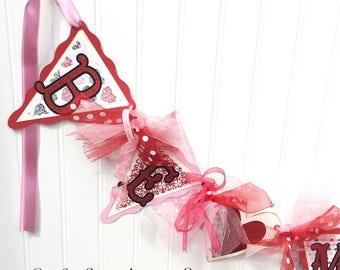 Valentine Decoration Valentine Banner Be Mine Banner Party Decoration Home Decor