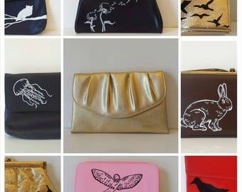 Vintage gold purse / Vintage Gold Purse / Gold / Gold Purse / Gold Clutch / Brides Purse / Wedding Purse / Bridesmaid Gift