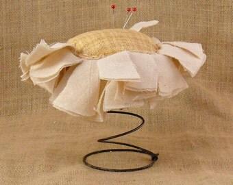 Sunflower Nodder Pin Cushion