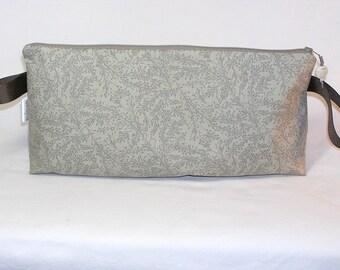 Grey Seedheads Anna Clutch