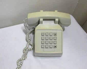 Telephone Push Button Desk 1970s