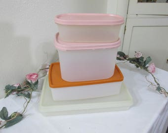 Tupperware Containers Set of 4