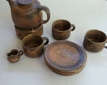 10 Piece Weigel Tea set