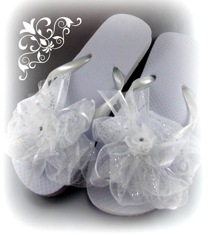 Flip Flops Bride Wedding Bride Flip Flops Wedding Flip