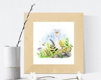 Spring cleaning sale La petite reine - Signed print