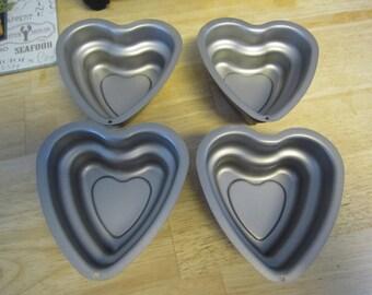 Heart Shape Double Layered Baking Molds
