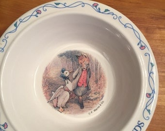 Oeter Rabbit and Friends Bowl