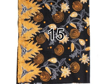 Batik Sarong for Custom Orders - Not For Sale - No 15