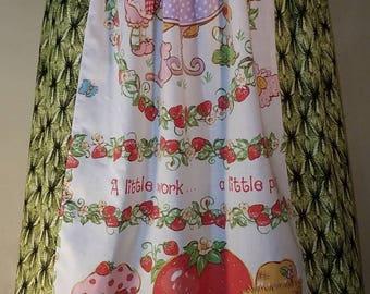 Vintage Strawberry Shortcake Skirt