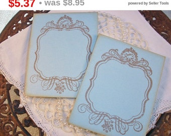 SALE Wedding Event and Party Place Cards Food Buffet Label Tags Signs Blank Cards Set of 10