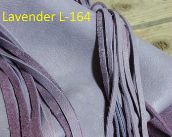 Lavender Sheep Buckskin- Lacing, Half and Full Hides Stock No. L-164
