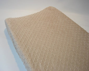 Changing Pad Cover Light Brown Latte