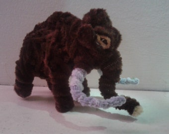 Fuzzy Figures- Woolly Mammoth