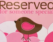 Reserved for Twila M.