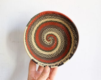 small basket | woven bowl catchall