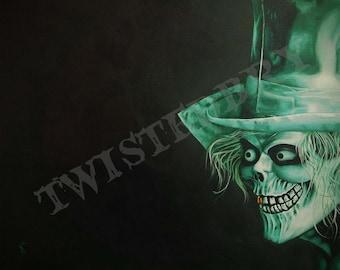 Hatbox Ghost Print