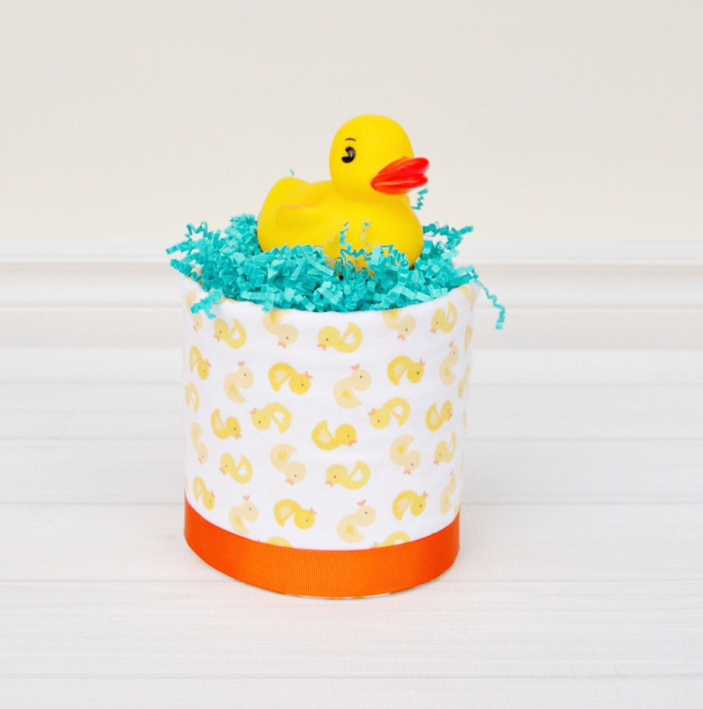 Rubber Duck Diaper Cakes Mini Diaper Cake Rubber Ducky Baby