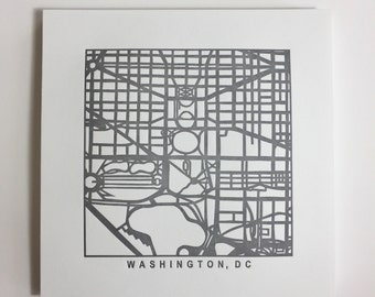 Richmond or DC pressed prints