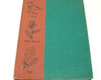 An Introduction to Nature, Birds, Wild Flowers, Trees by John Kieran, Vintage Book