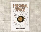Enamel Pin - Personal Space