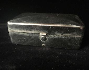 Vintage Chrome Gem Razor Box