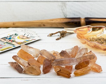 Golden Lemurian Seed Quartz Crystal - What Will Your Crystal Know?