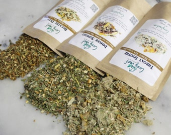 Winter Preparedness gift set herbal loose leaf tea variety pack