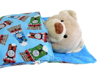 Thomas the Tank Engine Doll Sleeping Bag for BOYS  18 inch doll bedding