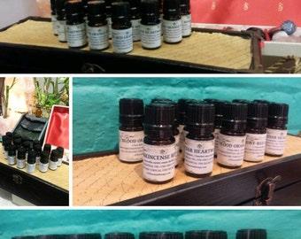 Aquamist Essential Oil Blend. Bergamot, Petitgrain, Grapefruit, Frankincense, Ginger Lily. 5 ML