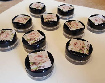 Pink Lotus Flower Wax Solid Perfume Balm