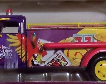 Collectible Firetruck, New In Box, Never Opened, Red Toy Truck, Firetruck Replica, Collectible Antique Firetruck, Firetruck Toy
