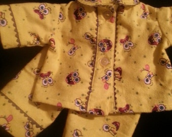 Sponge Bob 15in Bitty Baby pajamas Top and pants bottom