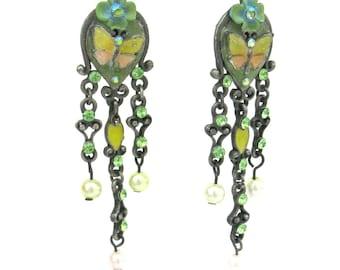 vintage ear wear   ...   earrings   ...    butterfly
