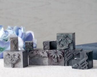Lead Flowers Printers Type - Typesetting Dingbats - Typographer Tool