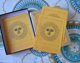 Box of Vintage Sun Print Bookplates