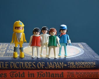 Vintage Collection of 5 Playmobil People