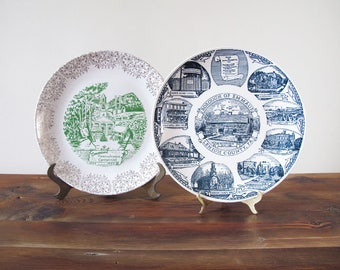 Vintage Collector's Plates of Emmaus PA Lehigh County