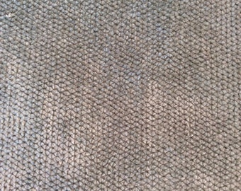 PLUSH CHENILLE Solid SPA Green Grey  Upholstery Fabric by the yard, 05-60-04-0214