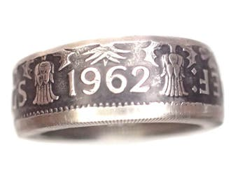 Vintage Brittish 2 Shilling Coin Ring! pick your size
