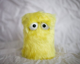 Kids Instruments Shaker - Furry Yellow Handmade Durable Eco-Friendly Fun Coolest Shaker Drums Instruments For Kids