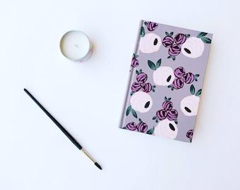 SALE // Floral Mauve   Small Journal