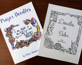 Hand drawn Coloring Books for grown ups