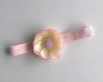 Pretty dainty bloom headband